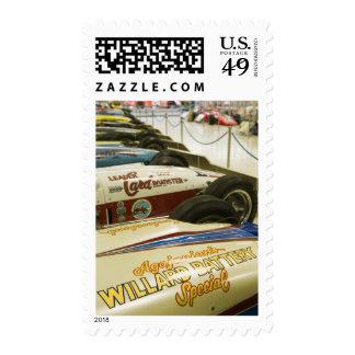 USA, Indiana, Indianapolis: Indianapolis Motor 3 Stamps