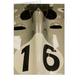 USA, Indiana, Indianapolis: Indianapolis Motor 4 Greeting Cards