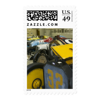 USA, Indiana, Indianapolis: Indianapolis Motor 5 Postage Stamps