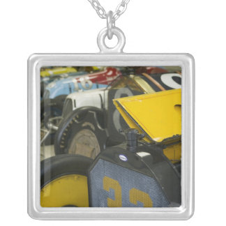 USA, Indiana, Indianapolis: Indianapolis Motor 5 Silver Plated Necklace