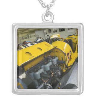 USA, Indiana, Indianapolis: Indianapolis Motor Silver Plated Necklace