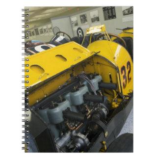 USA, Indiana, Indianapolis: Indianapolis Motor Spiral Notebook