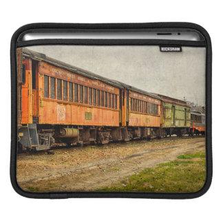 USA, Indiana. The North Mudson Railroad Museum iPad Sleeve