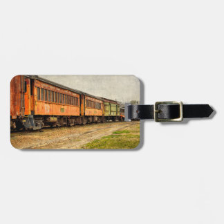 USA, Indiana. The North Mudson Railroad Museum Luggage Tag
