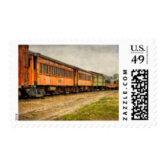 USA, Indiana. The North Mudson Railroad Museum Postage