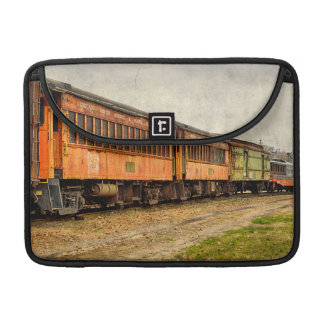 USA, Indiana. The North Mudson Railroad Museum Sleeve For MacBook Pro
