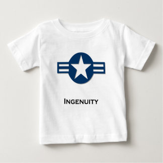 USA Ingenuity blue Infant T-shirt