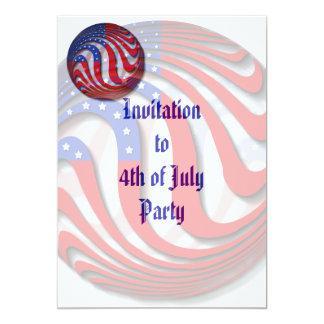 USA Invitation