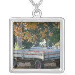USA, IOWA, Madison County, Winterset: Howell's Square Pendant Necklace