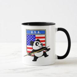 Combo Mug with USA Javelin Panda design