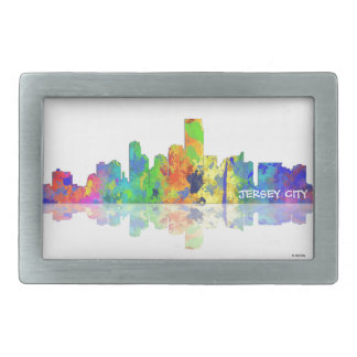 USA, JERSEY CITY SKYLINE - Belt buckle