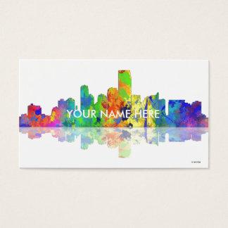 USA, JERSEY CITY SKYLINE - Business cards