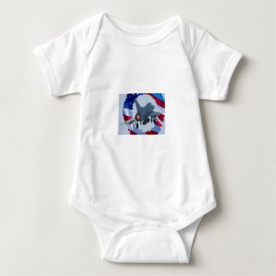 Usa Jet Baby Bodysuit