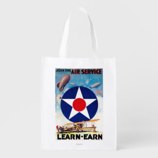 USA - Join the Air Service Learn-Earn Grocery Bag