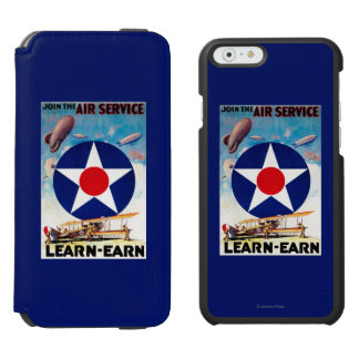 USA - Join the Air Service Learn-Earn iPhone 6/6s Wallet Case