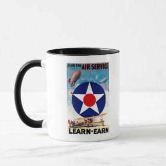 USA - Join the Air Service Learn-Earn Mug