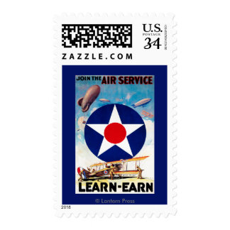 USA - Join the Air Service Learn-Earn Postage