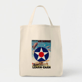 USA - Join the Air Service Learn-Earn Tote Bag