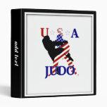 USA Judo 3 Ring Binder