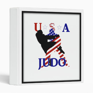 USA Judo Vinyl Binders