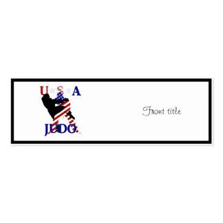USA Judo Business Card Templates