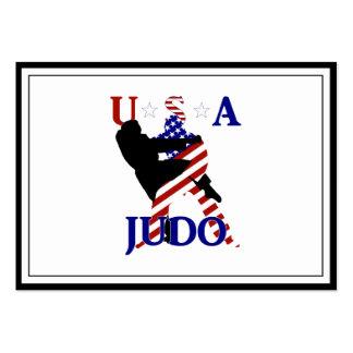 USA Judo Business Cards