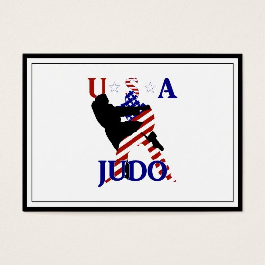 USA Judo Business Card
