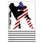 USA Judo Fighters Dry-Erase Board