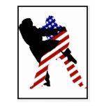 USA Judo Fighters Postcards