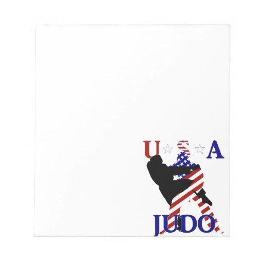USA Judo Memo Pads
