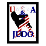USA Judo Postcard
