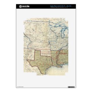 USA June 1861 Skin For iPad 3