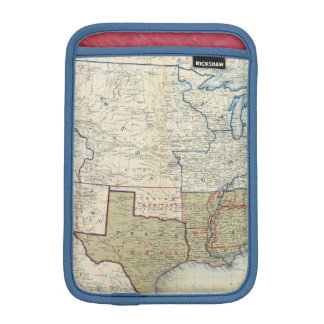 USA June 1861 Sleeve For iPad Mini