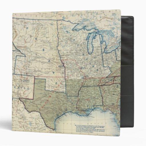 USA June 1862 3 Ring Binder