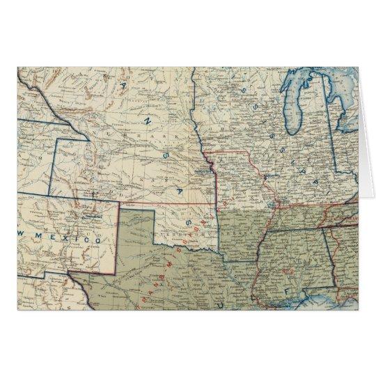 USA June 1862 Card