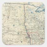 USA June 1862 Square Sticker