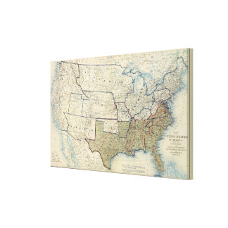 USA June 1864 Stretched Canvas Print