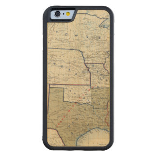 USA June 1864 Carved Maple iPhone 6 Bumper Case