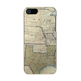USA June 1864 Metallic Phone Case For iPhone SE/5/5s