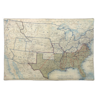 USA June 1864 Placemat