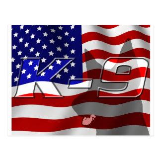 USA K9 Design Post Cards