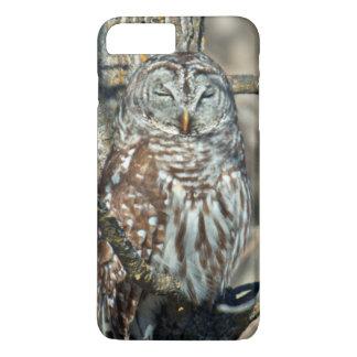 USA, Kansas. Barred Owl (Strix Varia) iPhone 8 Plus/7 Plus Case