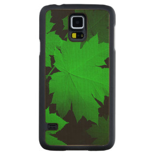 USA, Kansas, Oak Leaves In The Light Carved Maple Galaxy S5 Case