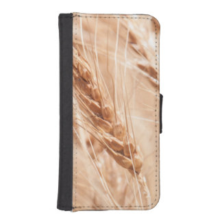 USA, Kansas, Wheat At Harvest Time Wallet Phone Case For iPhone SE/5/5s