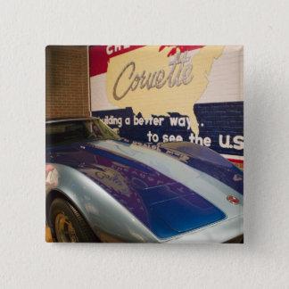 USA, Kentucky, Bowling Green: National Corvette 2 Button