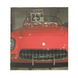 USA, Kentucky, Bowling Green: National Corvette 3 Notepad
