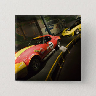 USA, Kentucky, Bowling Green: National Corvette 4 Button