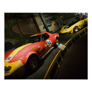 USA, Kentucky, Bowling Green: National Corvette 4 Poster