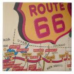 USA, Kentucky, Bowling Green: National Corvette 5 Ceramic Tiles