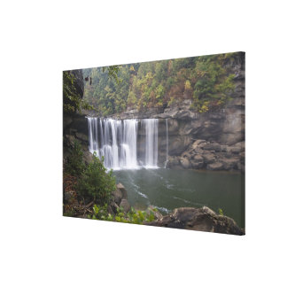 USA - Kentucky. Cumberland Falls on the Gallery Wrapped Canvas